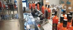 Une nouvelle ligne de production pour passer le cap des 3000 bouteilles / jour